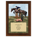 Hunter/Hunt Seat Equitation Award Plaque - Cherry Finish