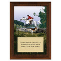 The Hunt Horse Show Plaque - Cherry