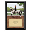 Dressage Award Plaque - Black