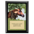 Horse & Child Award Plaque - Black