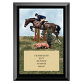 Hunter/Hunt Seat Equitation Award Plaque - Black
