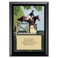 Jumper Award Plaque - Black