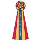 Newton Horse Show Rosette Award Ribbon