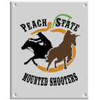 Full Color Equestrian Stall Plaques - Rectangle Shape