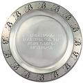 Pewtarex™ Custom Rim Horse Show Award Plate