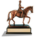 Male Dressage Horse Show Award Trophy