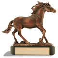 Stallion Horse Show Award Trophy