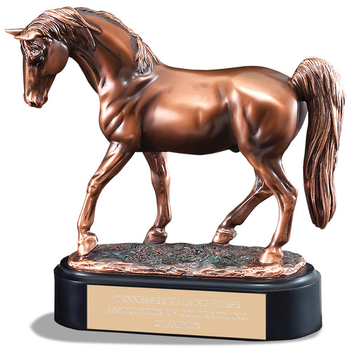 tennessee walker horse show trophy