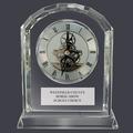 Crystal Desk Clock Horse Show Award