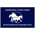 Rectangular Horse Show Window Decal