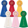 Set of 6 1st-6th Horse Stock Rosette
