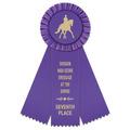 Mere Horse Show Rosette Award Ribbon