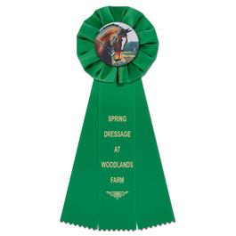 Empire Horse Show Rosette Award Ribbon