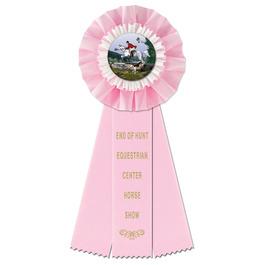 Trent Horse Show Rosette Award Ribbon