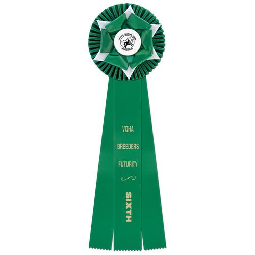 18 Wheaton Horse Show Ribbon Hodges Badge Company