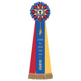 Barnes Horse Show Rosette Award Ribbon