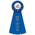 Ideal Rosette Award Ribbon