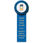 Little Rose Rosette Award Ribbon