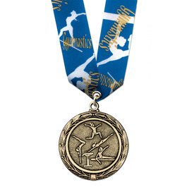 LX Medal w/ Multicolor Neck Ribbon