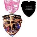 CSM Shield Gymnastics Award Medal w/ Any Multicolor Neck Ribbon - ENGRAVED