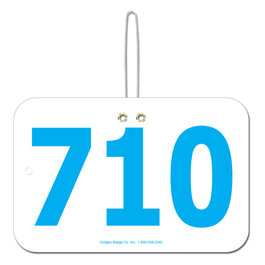 Large Rectangular Number w/ Hook