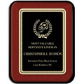 7&quot; x 9&quot; Rosewood Piano Award Plaque