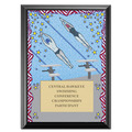 Swim Stars Award Plaque - Black