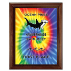 Full Color Mango Swim Plaque