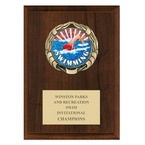 XBX Swim Medal Plaque