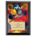 Full Color Art Plaque - Black