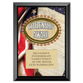 Citizenship Award Plaque - Black
