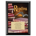 Full Color Reading Plaque - Black