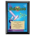 Science Award Plaque - Black
