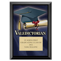 Full Color Valedictorian Plaque - Black