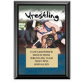 "5"" x 7"" Full Color Wrestling Black Wood Plaque"