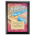 Full Color Writing Plaque - Black