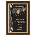 Brass Designer Swimming Award Plaque