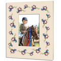Vintage Full Color Custom Horse Show Frame