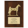 Three Gaited Horse Award Plaque