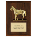 Quarter Horse w/ Saddle Award Plaque