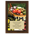 Full Color Plaque w/ Vegetable and Canning Stock Design  - Cherry