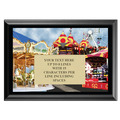 Full Color Plaque w/ Festival Stock Design  - Black