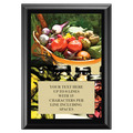 Full Color Plaque w/ Vegetable and Canning Stock Design  - Black