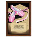 "5"" x 7"" Full Color Ballet Plaque - Cherry-Finished"