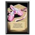 5&quot; x 7&quot; Full Color Ballet Plaque - Black