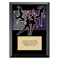 "5"" x 7"" Full Color Dance Styles Plaque - Black"