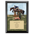 Hunter/Hunt Seat Equitation Full Color Plaque - Black