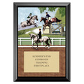 Combined Training Full Color Plaque - Black