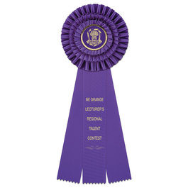 Regent Fair, Festival & 4-H Rosette Award Ribbon