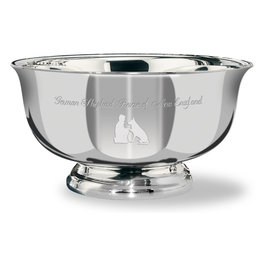 Revere Dog Show Award Bowl